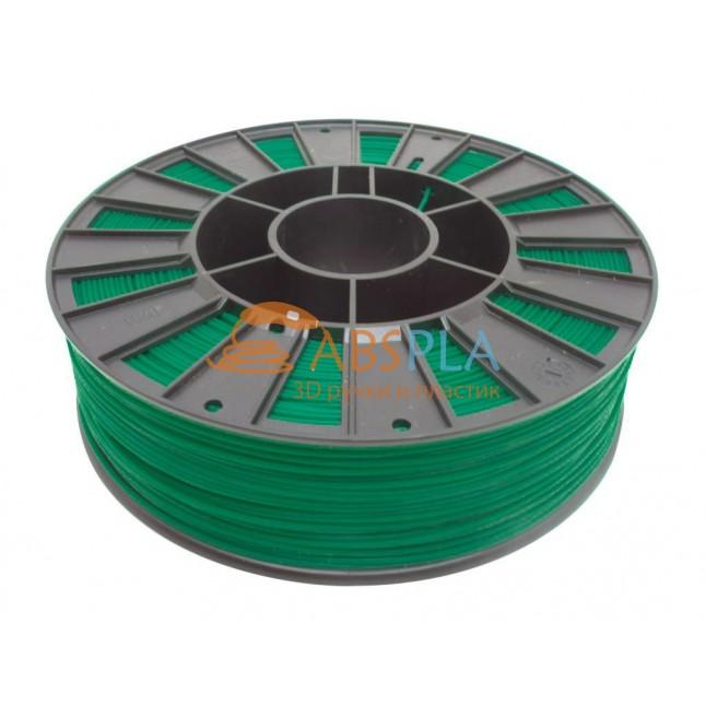 Зеленый PET-G пластик 300м. на катушке