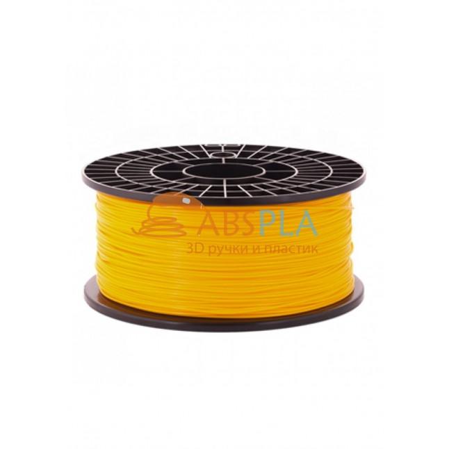 Оранжевый PLA пластик 1кг. на катушке