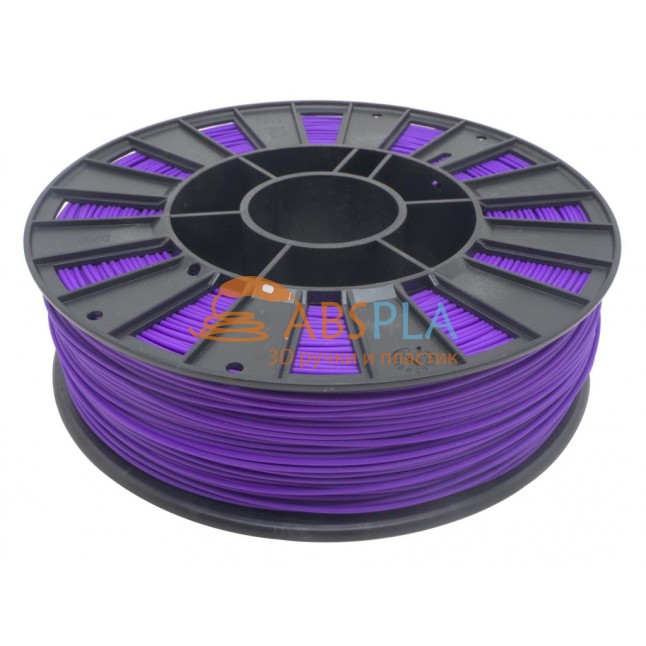 Фиолетовый PET-G пластик 300м. на катушке
