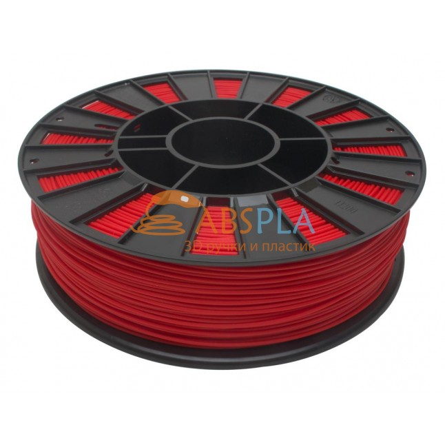 Красный PET-G пластик 300м. на катушке