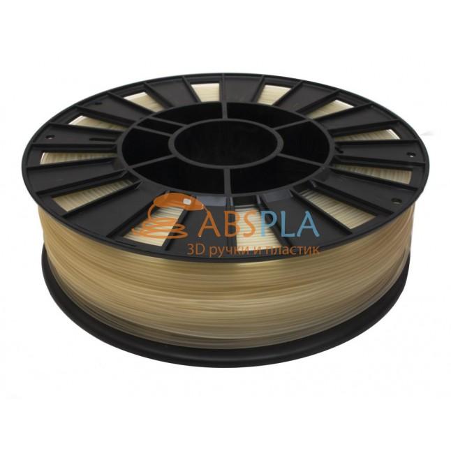 Натуральный PLA пластик 300м. на катушке