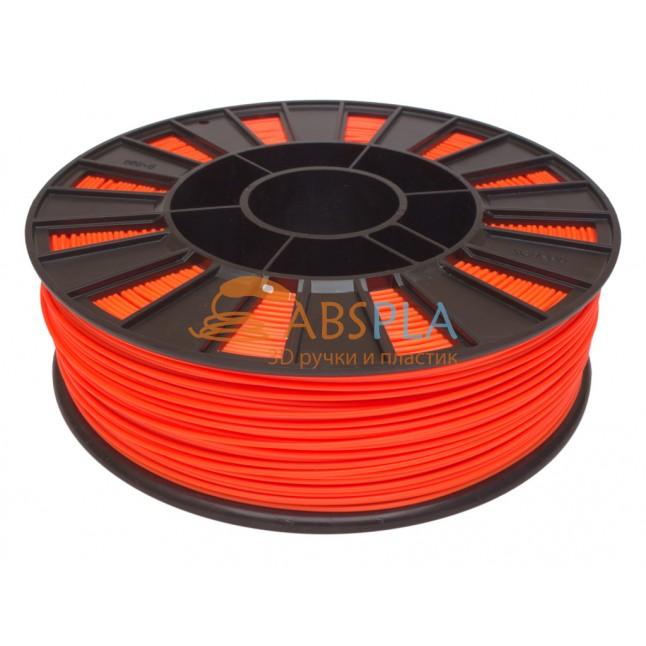 Оранжевый PET-G пластик 300м. на катушке