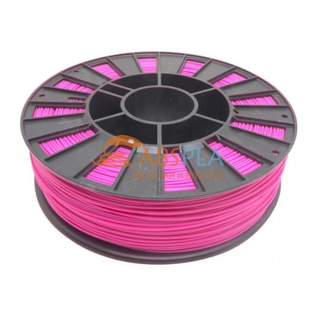 Розовый PET-G пластик 300м. на катушке