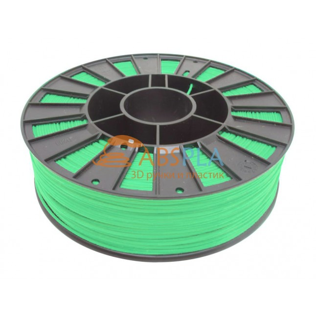 Салатовый PLA пластик 300м. на катушке