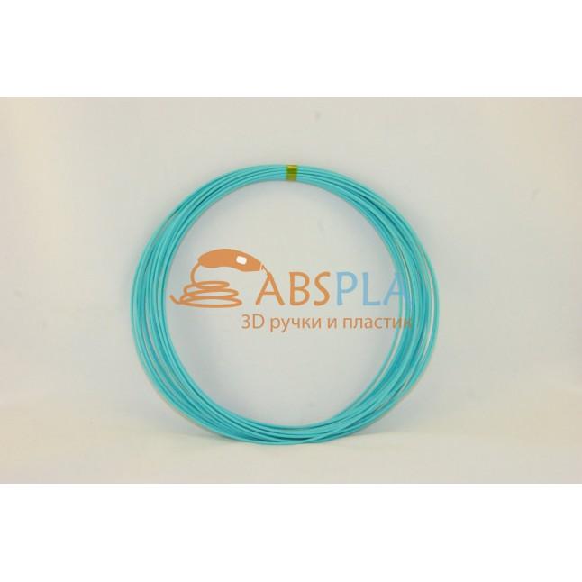 Бирюзовый пластик ABS 10 метров