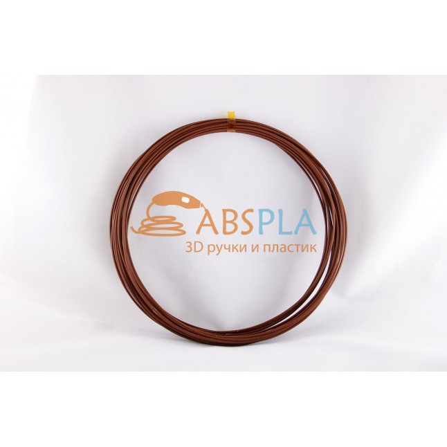 Коричневый пластик ABS 10 метров