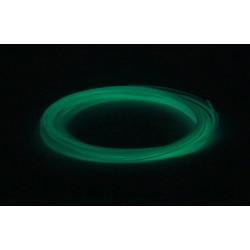 Светящийся зеленый пластик PLA 10 метров