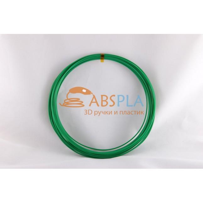 Зеленый пластик ABS 10 метров