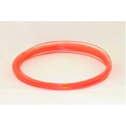 Оранжевый пластик PLA 10 метров
