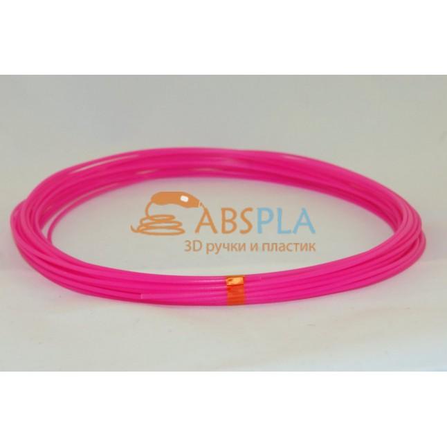 Розовый пластик PLA 10 метров