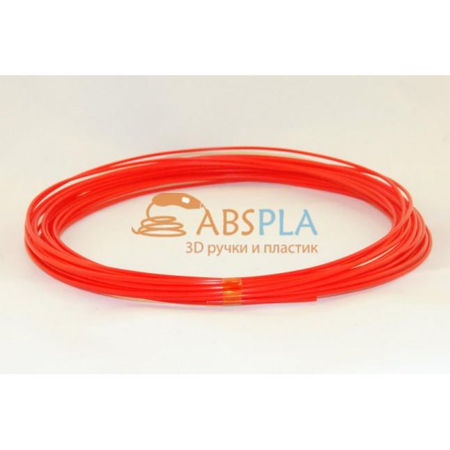 Красный пластик PLA 10 метров
