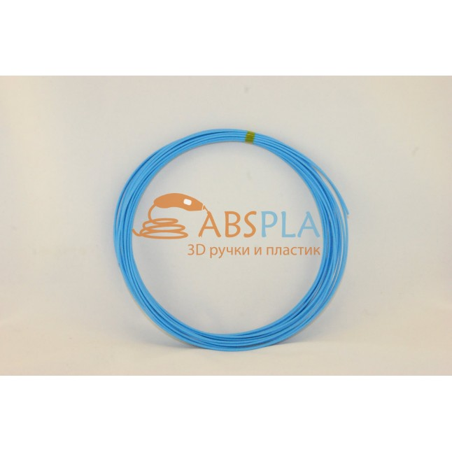 Голубой пластик ABS 10 метров