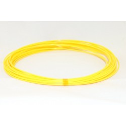 Желтый пластик PLA 10 метров