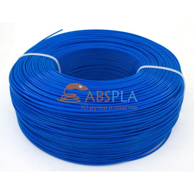Моток синего PET-G пластика 1.3 кг ~ 400 м.