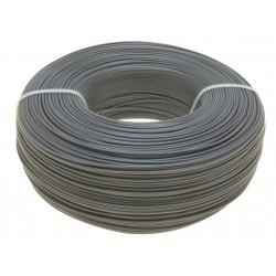 Моток серого PET-G пластика 1.16 кг ~ 400 м.