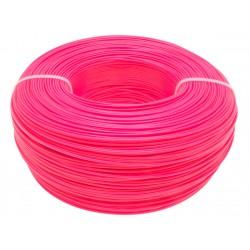 Моток розового PET-G пластика 1.16 кг ~ 400 м.