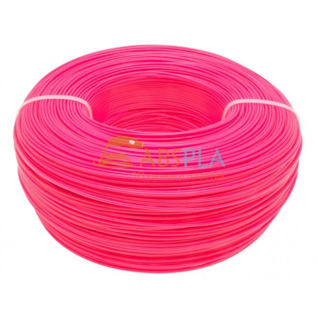 Моток розового PET-G пластика 1.3 кг ~ 400 м.