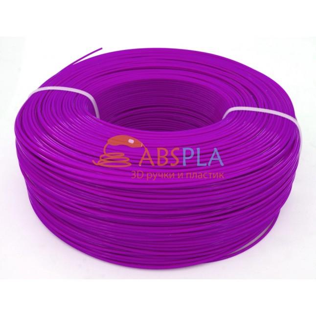 Моток фиолетового PET-G пластика 1.3 кг ~ 400 м.