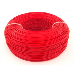 Моток красного PET-G пластика 1.3 кг ~ 400 м.