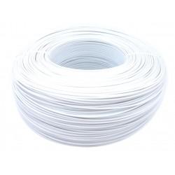 Моток белого PET-G пластика 1.16 кг ~ 400 м.