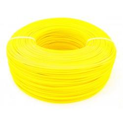 Моток желтого PET-G пластика 1.16 кг ~ 400 м.