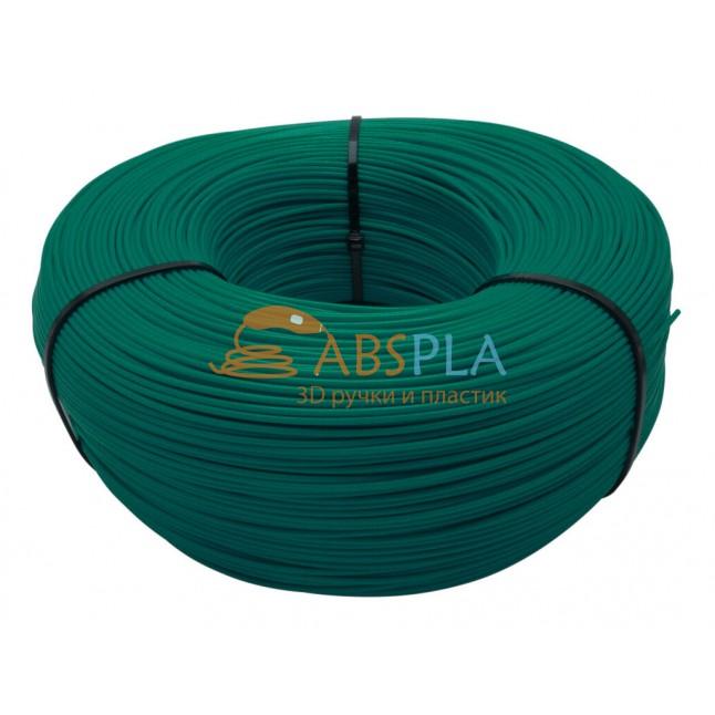 Моток зеленого SBS пластика 1 кг ~ 400 м.