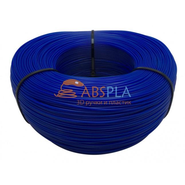 Моток синего SBS пластика 1 кг ~ 400 м.