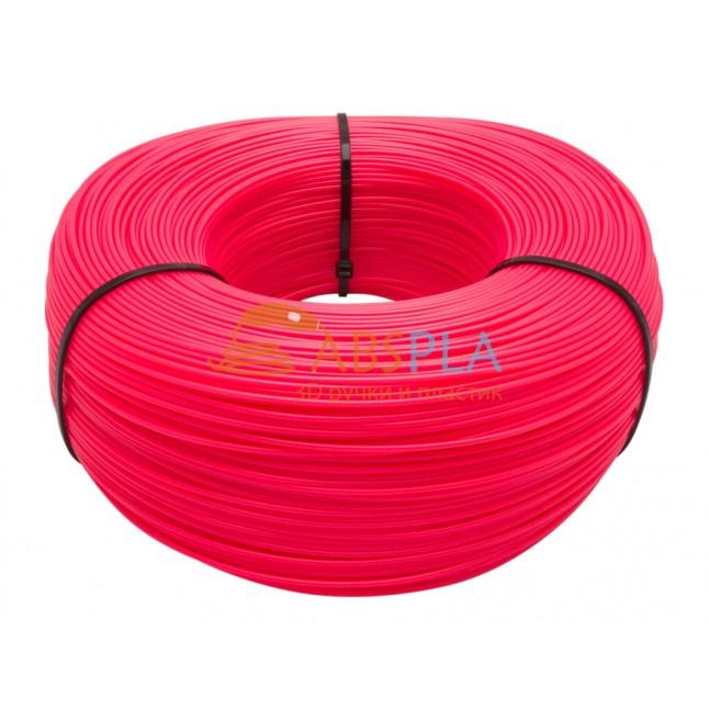 Моток розового SBS пластика 1 кг ~ 400 м.
