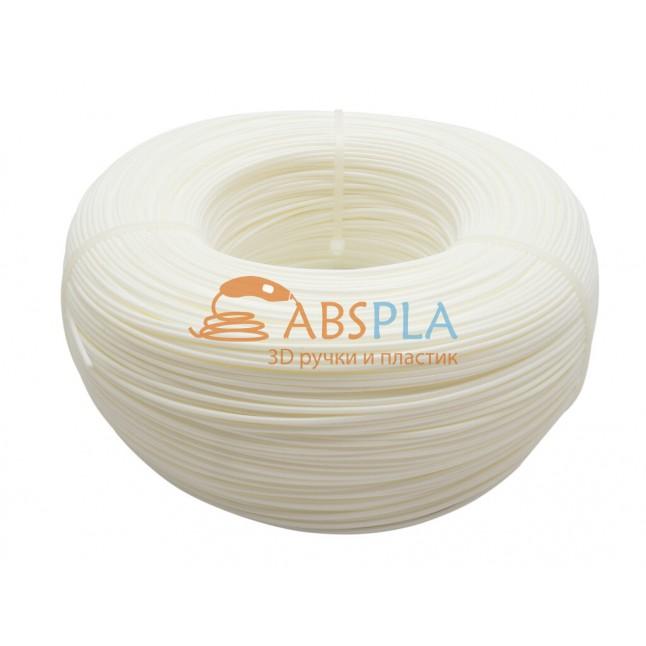 Моток белого SBS пластика 1 кг ~ 400 м.