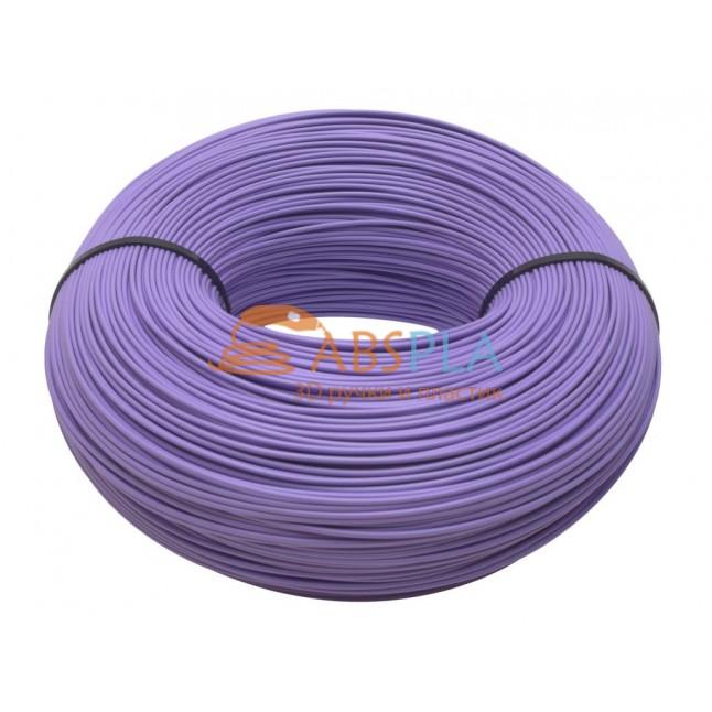 Моток фиолетового SBS пластика 1 кг ~ 400 м.