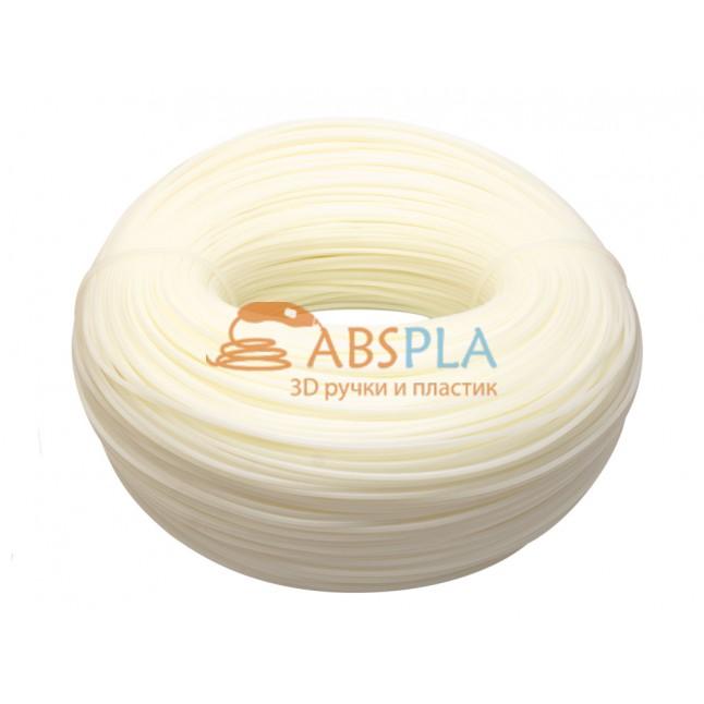 Моток натурального PLA пластика 1.2 кг ~ 400 м.