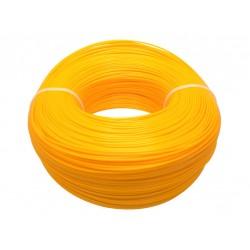 Моток желтого ABS пластика 1кг ~ 400 м.