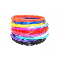 Набор цветного PLA пластика для 3D ручки 130 метров 13 цветов
