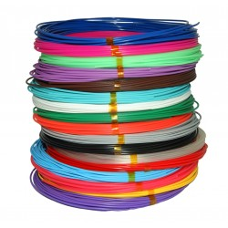 Набор цветного PLA пластика для 3D ручки 160 метров 16 цветов