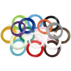 Набор цветного PLA пластика для 3D ручки 170 метров 17 цветов