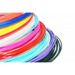 Набор цветного PLA пластика для 3D ручки 65 метров 13 цветов